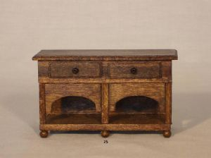 25a. Two-Drawer Low Dresser